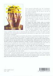 Lignes de la main revelent votre avenir (les) - 4ème de couverture - Format classique