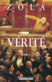 Verite t1 - Couverture - Format classique