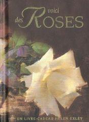 Voici des roses - Intérieur - Format classique