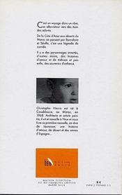 Le Taureau Du Desert - 4ème de couverture - Format classique