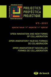 Revue Projectique N.5 ; Open Innovation Et Nouvelles Formes Collaboratives - Couverture - Format classique