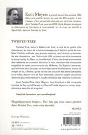 Twisted tree - 4ème de couverture - Format classique