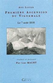 Première ascension du Vignemale ; le 7 aout 1838 - Couverture - Format classique