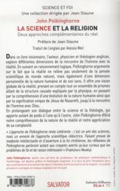 Explorer la réalité ; l'entrelacement de la science et de la religion - 4ème de couverture - Format classique