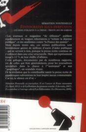 Éditocrates sous perfusion - 4ème de couverture - Format classique