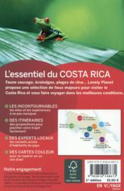 L'essentiel du Costa Rica - 4ème de couverture - Format classique