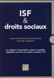ISF ; les régimes d'exonération - Couverture - Format classique