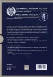 ISF ; les régimes d'exonération - 4ème de couverture - Format classique