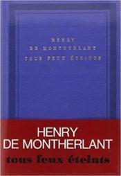 Tous feux eteints - carnets 1965, 1966, 1967, 1972 et sans dates - Couverture - Format classique