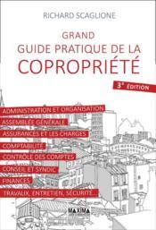 Grand guide pratique de la copropriété (3e édition) - Couverture - Format classique