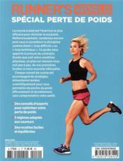 Spécial perte de poids ; runner's world pour les coureurs - 4ème de couverture - Format classique