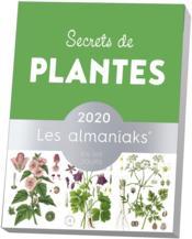 Almaniak secrets de plantes (édition 2020) - Couverture - Format classique
