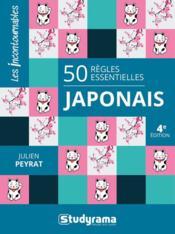 50 règles essentielles japonais (4e édition) - Couverture - Format classique