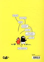 La vie extraordinaire de Vindru et Marie-Pierre ; kakunaks au soleil - 4ème de couverture - Format classique