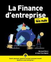 La finance d'entreprise pour les nuls - Couverture - Format classique