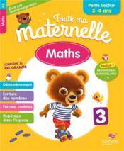 Toute ma maternelle ; maths ; PS - Couverture - Format classique
