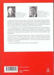 Dt Civil. Les Biens 5e Precis - 4ème de couverture - Format classique