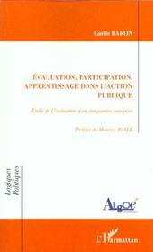 Evaluation Participation Apprentissage Dans L'Action Publique - Intérieur - Format classique