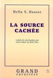 La source cachee - Couverture - Format classique