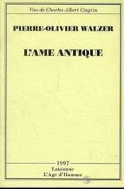 L'Ame Antique - Couverture - Format classique