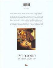Le savoir-vivre du chocolat - 4ème de couverture - Format classique