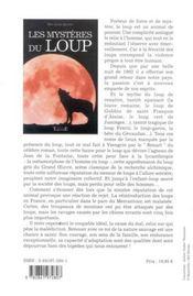 Les mystères du loup - 4ème de couverture - Format classique