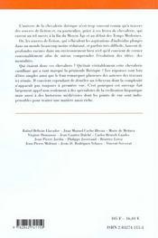 Univers De La Chevalerie En Castille - 4ème de couverture - Format classique