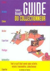 Guide du collectionneur et de l'amateur - Intérieur - Format classique
