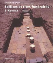Edifices et rites funeraires a kerma - Intérieur - Format classique