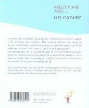 Mieux vivre avec un cancer - 4ème de couverture - Format classique
