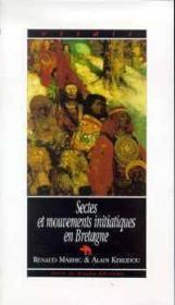 Sectes Et Mouvements Initiatiques En Bretagne - Couverture - Format classique