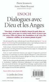 Enoch ; dialogues avec dieu et les anges - 4ème de couverture - Format classique