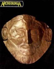 Archeologia trésors des ages n°44 janvier -février 1972 - Couverture - Format classique