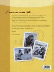 L'appel des origines t.2 ; Nairobi - 4ème de couverture - Format classique