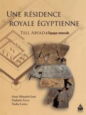 Residence royale egyptienne - Couverture - Format classique