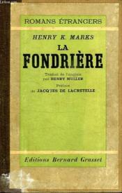 La Fondriere. - Couverture - Format classique