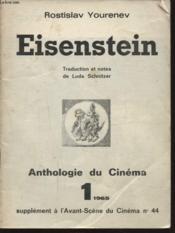 Eisenstein Anthologie Du Cinema 1 - Couverture - Format classique
