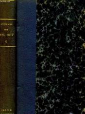 Journal De Edmond Got, Societaire De La Comedie Francaise 1822-1901. Tome 1. - Couverture - Format classique