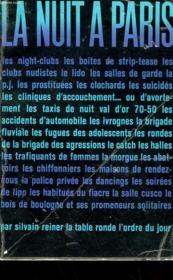 La Nuit A Paris - Couverture - Format classique