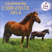Calendrier chevaux 2014 - Couverture - Format classique