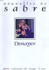 Nouvelles De Sabre Numero 6 - Couverture - Format classique