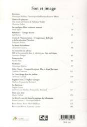 Son et image - cahiers jungiens de psychanalyse n 139 - 4ème de couverture - Format classique