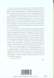 Sept Plumes De L'Aigle (Les) - 4ème de couverture - Format classique