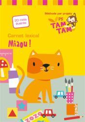Carnet lexical PS-P1 ; miaou ! - Couverture - Format classique