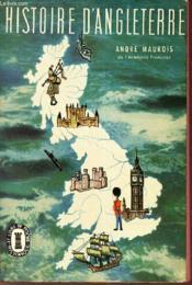 Histoire D'Angleterre - Couverture - Format classique
