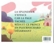 La face cachée du prince charmant - 4ème de couverture - Format classique