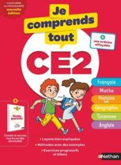 JE COMPRENDS TOUT! T.3 ; toutes les matières ; CE2 (édition 2019) - Couverture - Format classique