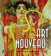 Art nouveau ; Munich, Vienne, Prague, Budapest, Berlin - Couverture - Format classique