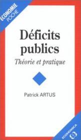 Deficits publics poche - Couverture - Format classique