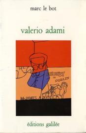 Valerio Adami - Couverture - Format classique